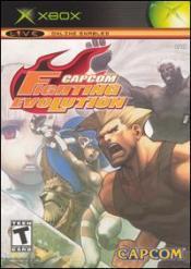 Capcom Fighting Evolution Box Art