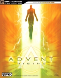 Advent Rising - BradyGames Official Strategy Guide Box Art