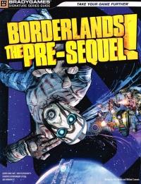 Borderlands: The Pre-Sequel! - BradyGames Signature Series Guide Box Art