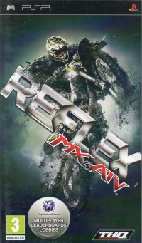 MX vs. ATV Reflex [NL] Box Art