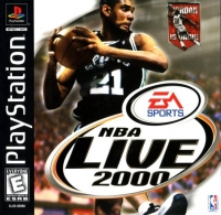 NBA Live 2000 Box Art