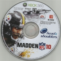 Madden NFL 10 - Demo (Head & Shoulders) Box Art