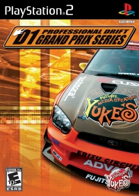 D1 Professional Drift: Grand Prix Series Box Art