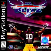 NFL Blitz Box Art