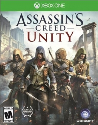 Assassin's Creed: Unity Box Art