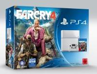 Sony PlayStation 4 - Far Cry 4 (Glacier White) Box Art