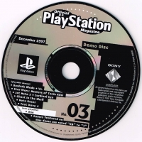 Official U.S. PlayStation Magazine Demo Disc 03 Box Art