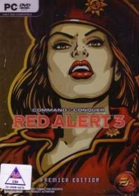 Command & Conquer: Red Alert 3 - Premier Edition Box Art
