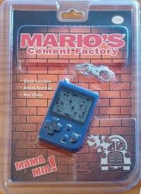 Mario's Cement Factory (blue / cement truck) Box Art