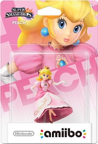 Peach - Super Smash Bros. Box Art