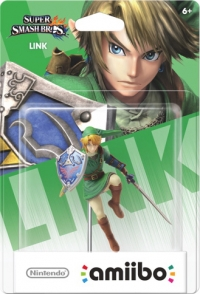 Link - Super Smash Bros. Box Art