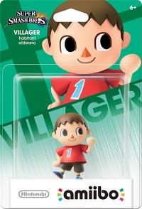 Villager - Super Smash Bros. Box Art