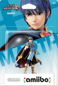 Marth - Super Smash Bros. (gray Nintendo logo) Box Art