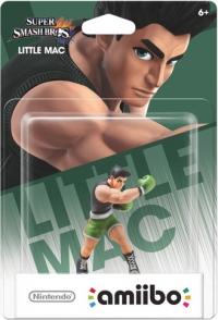 Little Mac - Super Smash Bros. (gray Nintendo logo) Box Art