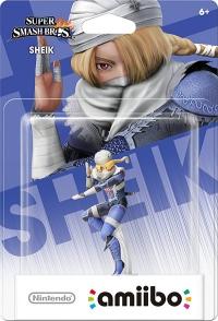 Sheik - Super Smash Bros. (gray Nintendo logo) Box Art
