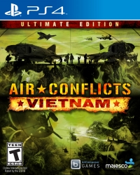 Air Conflicts: Vietnam - Ultimate Edition Box Art