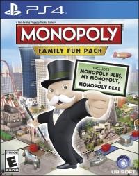 Monopoly: Family Fun Pack Box Art