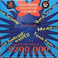 Pizza Hut Pizza-Powered Demo Disc (SCUS-94292) Box Art