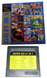 Super GG 21 in 1 Box Art