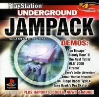 PlayStation Underground Jampack Demo Disc - Summer '99 Box Art