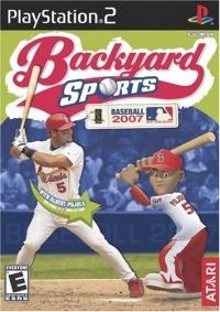 Backyard Sports Baseball 2007 Box Art