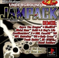 PlayStation Underground Jampack Demo Disc - Winter '98 Box Art