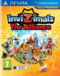 Invizimals: The Alliance Box Art