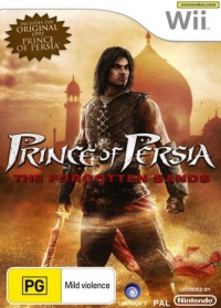 Prince of Persia: The Forgotten Sands Box Art