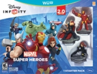 Disney Infinity 2.0 Edition - Marvel Super Heroes Starter Pack Box Art