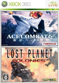 Ace Combat 6: Kaihou e no Senka / Lost Planet Colonies Box Art
