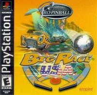 Pro-Pinball: Big Race USA Box Art