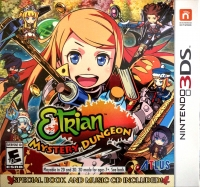 Etrian Mystery Dungeon - Special Book and Music CD Included Box Art