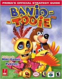 Banjo-Tooie - Prima's Official Strategy Guide (EB Games Special Cover) Box Art