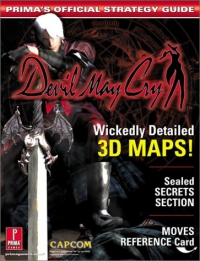 Devil May Cry - Prima's Official Strategy Guide Box Art