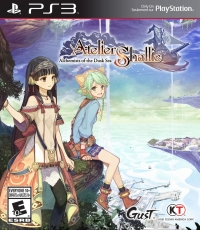 Atelier Shallie: Alchemists of the Dusk Sea Box Art