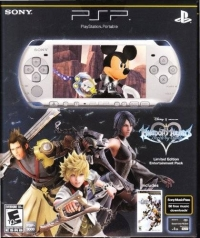 Sony PlayStation Portable - Kingdom Hearts: Birth by Sleep PSP Entertainment Pack Box Art