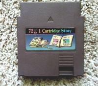 72 in 1 Cartridge Story Box Art