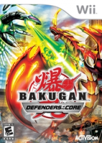Bakugan: Defenders of the Core Box Art