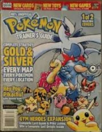 100% Unofficial Pokémon Trainer's Guide: Gold & Silver (Silver Cover) Box Art