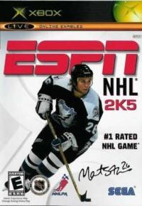 ESPN NHL 2K5 Box Art