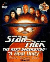 Star Trek: The Next Generation - A Final Unity Bradygames Official Strategy Guide Box Art