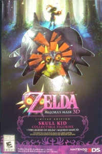 Legend of Zelda, The: Majora's Mask 3D Limited Edition Box Art