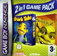 2 In 1 Game Pack: Shrek 2 / Shark Tale Box Art