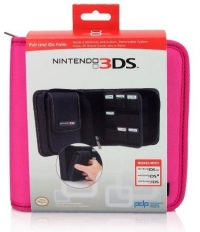 3DS Pull and Go Folio Case (Black) Box Art