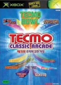 Tecmo Classic Arcade Box Art