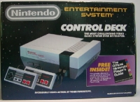 Nintendo Entertainment System - Control Deck - with The Official Nintendo Player's Guide Box Art