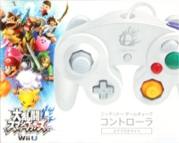 GameCube Controller - Smash Bros. White [JP] Box Art