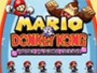 Mario vs. Donkey Kong: Minis March Again! Box Art