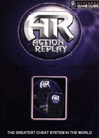 Action Replay Gamecube Box Art