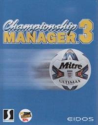 Championship Manager 3 Box Art